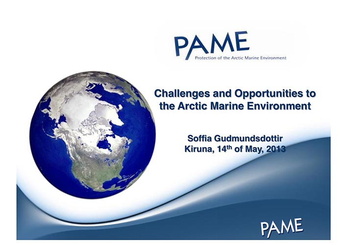 PAME and selected projects 14 May