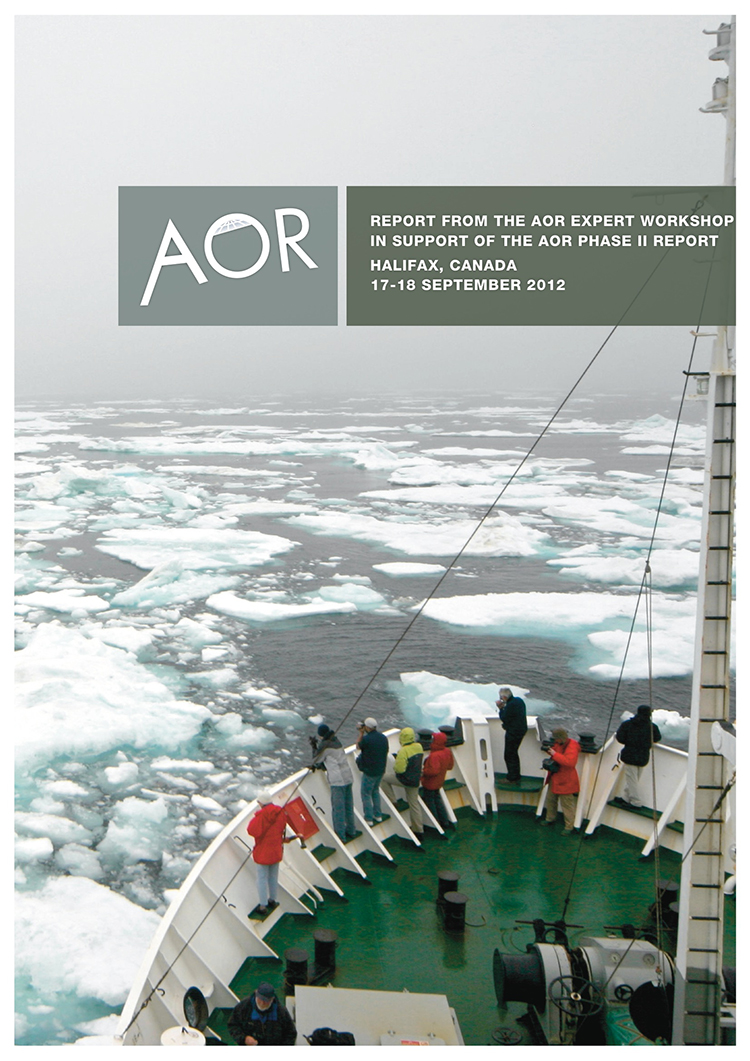 AOR Workshop report - Halifax clean