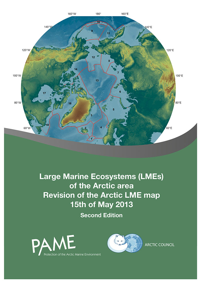PAME revised LME map