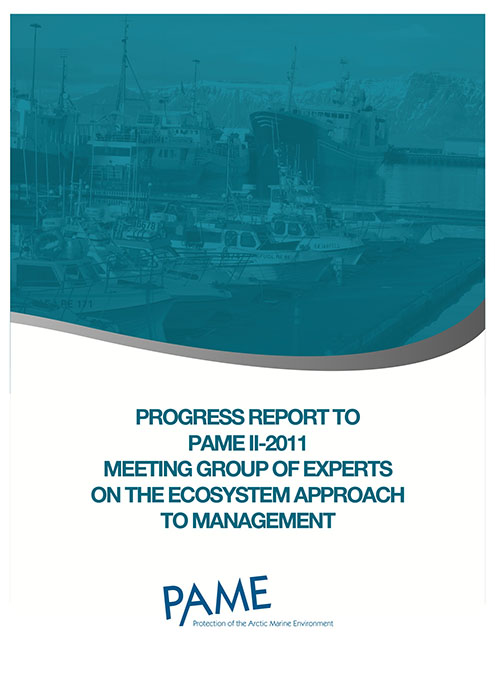 EA Progress Report PAME II 20111