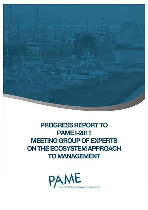 EA Progress Report PAME I 20111