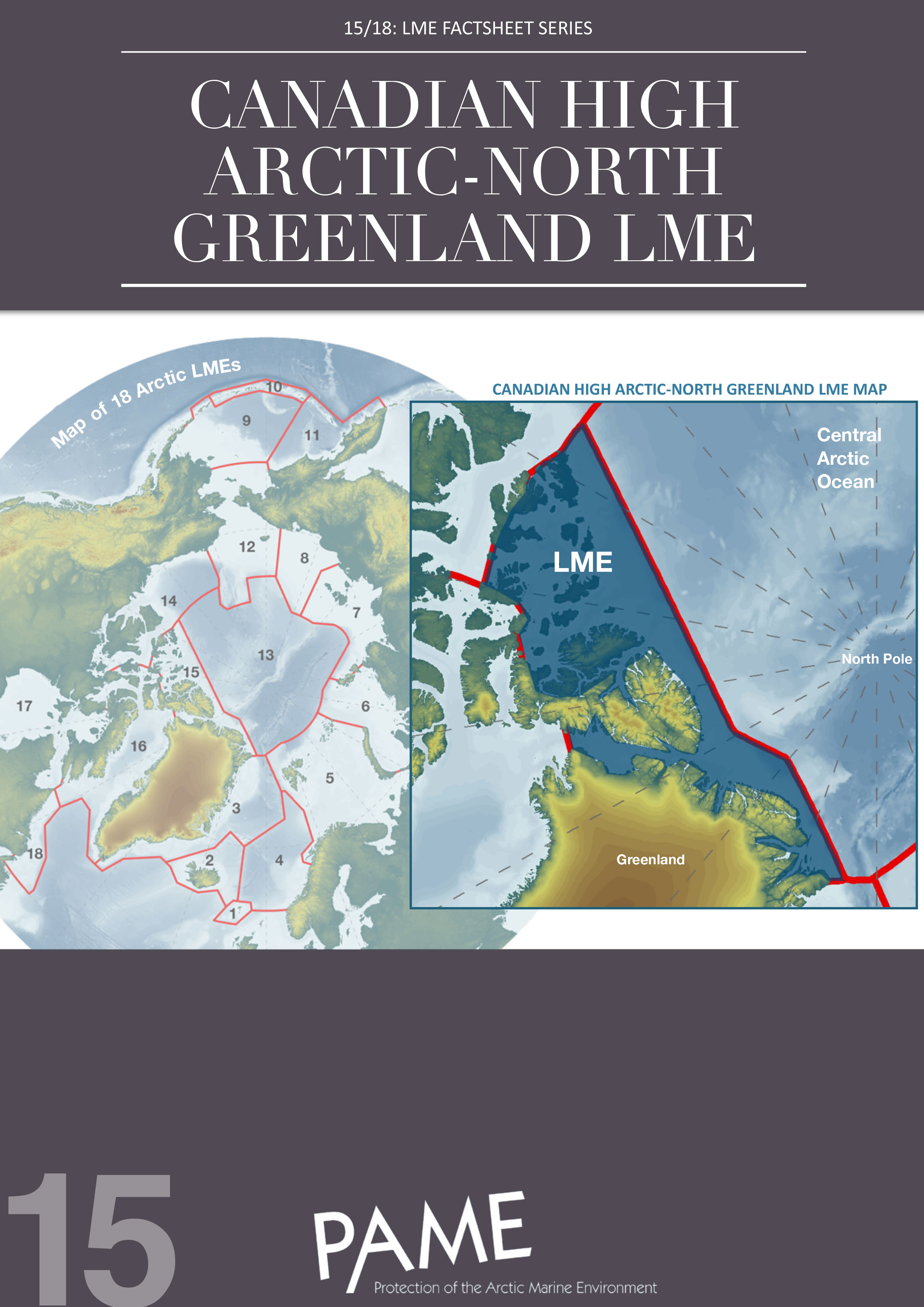 15 Canadian High Arctic North Greenland LME