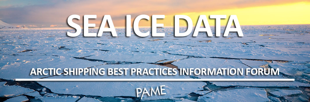 sea ice data header