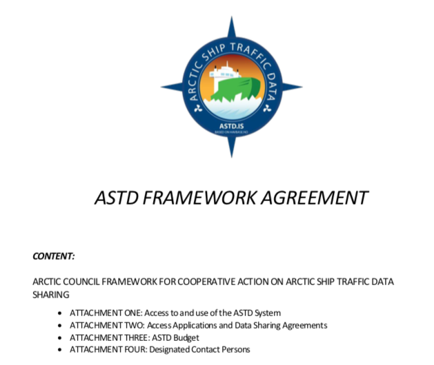ASTD Cooperative Agreement