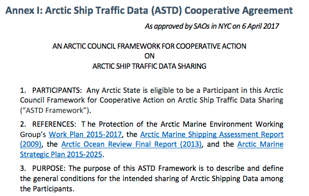 ASTD Cooperative Agreement