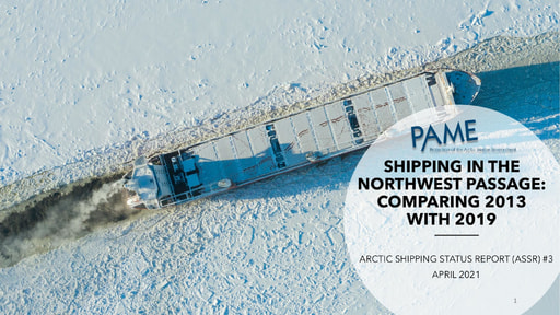ASSR #3: Shipping in the Northwest Passage: Comparing 2013 to 2019