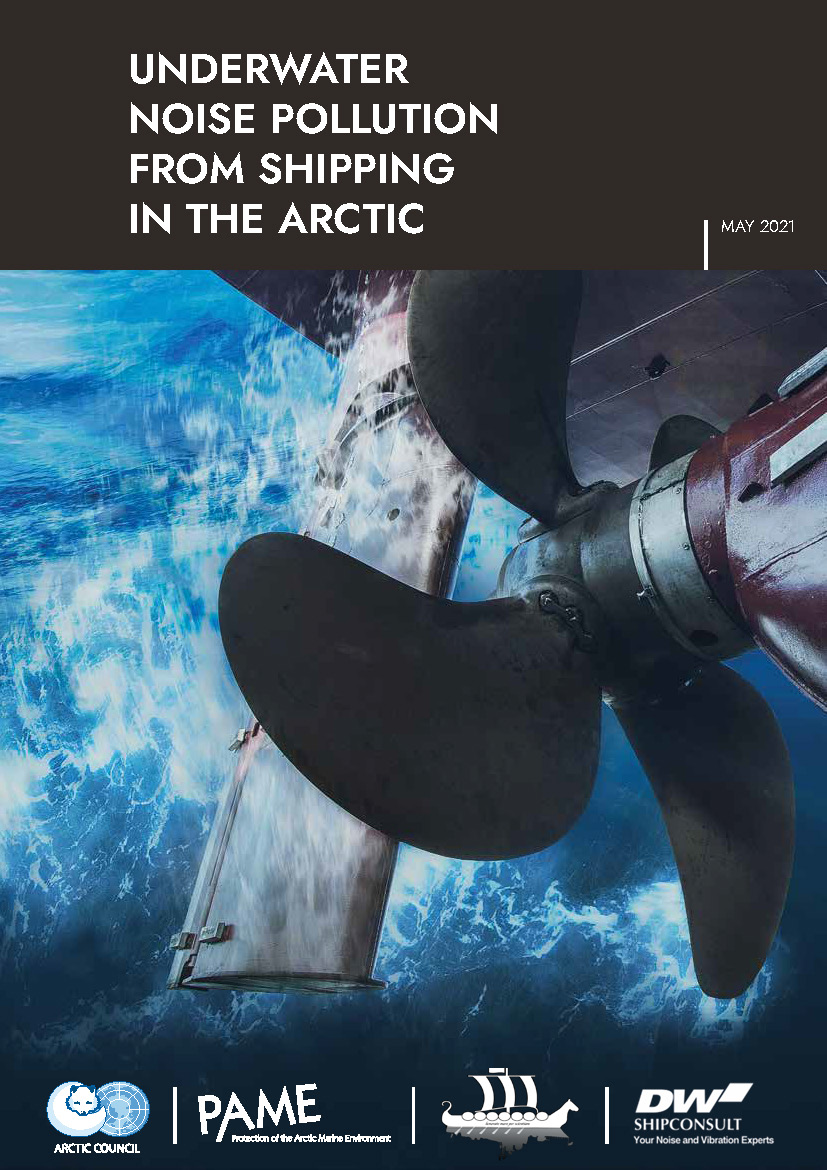 Underwater Noise Pollution from Shipping in the Arctic