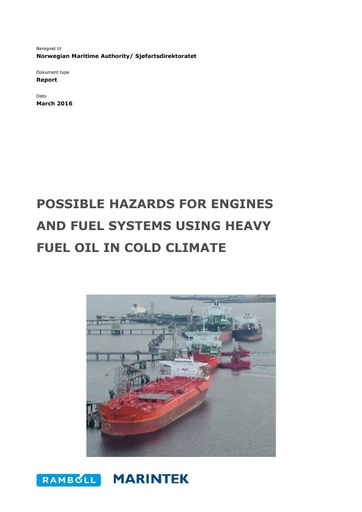 HFO in the Arctic Phase IIIb