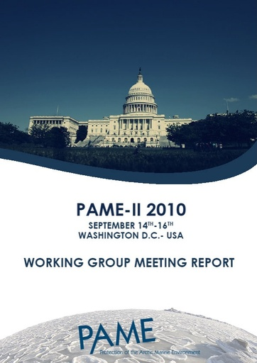 PAME II 2010 Meeting Report