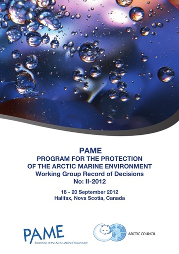 PAME II 2012 Meeting report