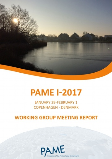 PAME I 2017 Meeting report