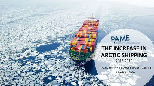 Arctic Shipping Report #1: The Increase in Arctic Shipping 2013-2019
