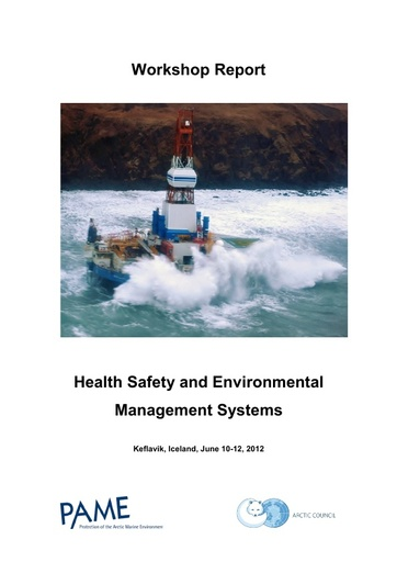 Systems Safety Management and Safety Culture   Workshop Report (Keflavik)