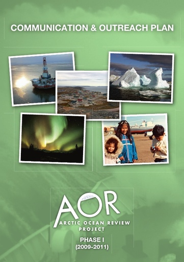 AOR Communication and Outreach Plan