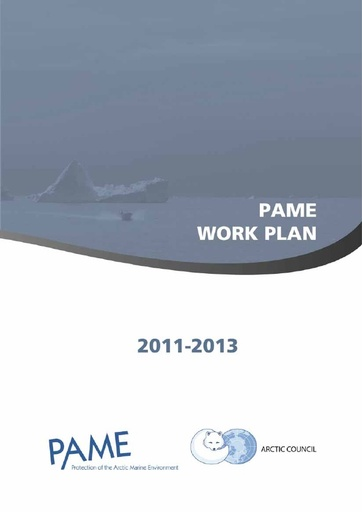 PAME Work Plan 2011-2013