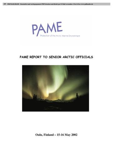 SAO Report 2002