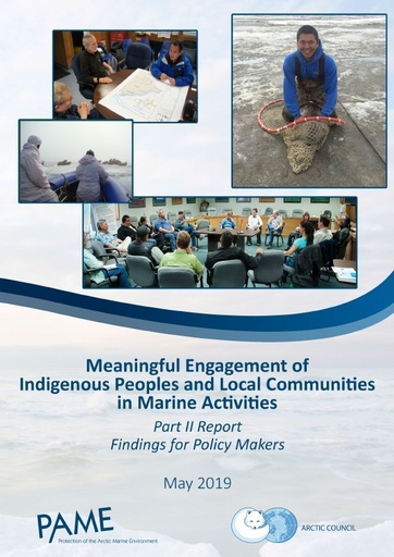 Meaningful Engagement of Indigenous Peoples and Local Communities in Marine Activities (MEMA): Part II - Findings for Policy Makers