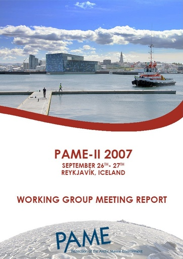 PAME II 2007 Meeting Report