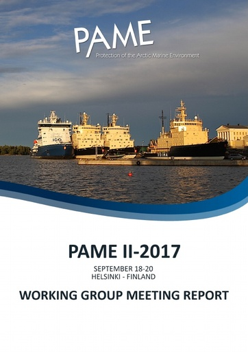 PAME II 2017 Meeting Report