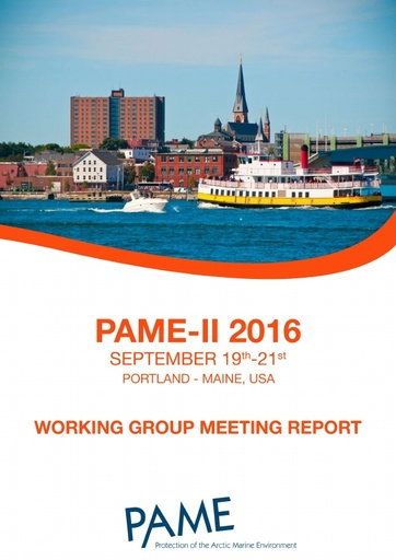 PAME II 2016 Meeting report
