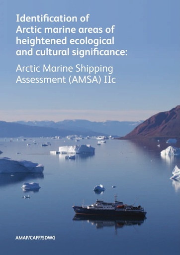 Identification of Arctic marine areas of heightened ecological and cultural significance - AMSA IIc