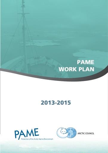 PAME Work Plan 2013-2015