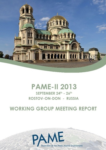 PAME II 2013 Meeting Report