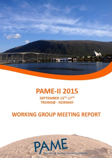 PAME II 2015 Meeting Report