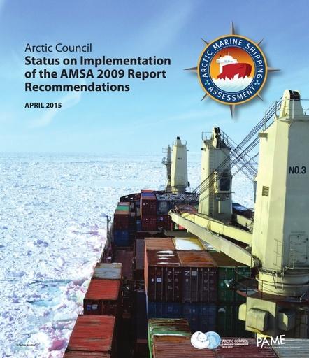 AMSA Status of Implementation report (2015)