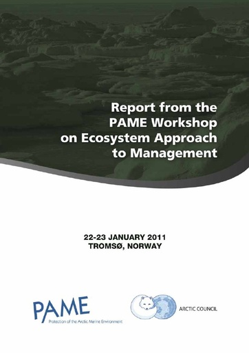 Ecosystem Approach to Mangement - Workshop report
