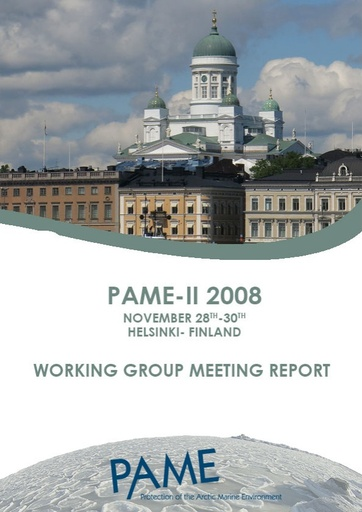 PAME II 2008 Meeting Report