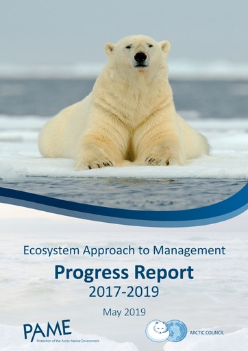 Progress report on the Ecosystem Approach to Management Expert Group 2017-2019 work plan