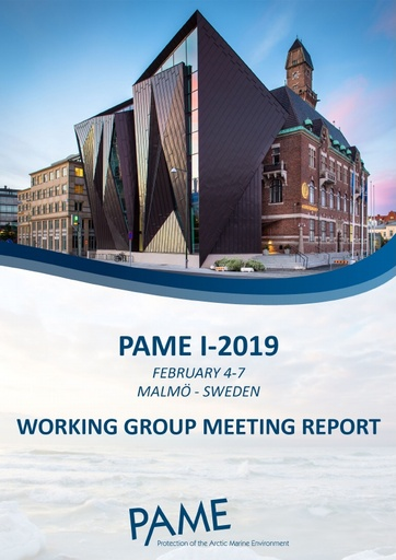 PAME I 2019 Meeting Report