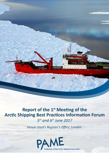 Forum 1st Meeting Summary Report