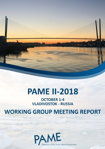 PAME II-2018 Meeting Report