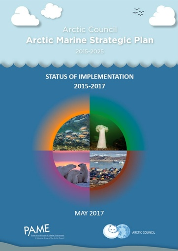 1st Report on Progress of Implementation of the 2015-2025 Arctic Marine Strategic Plan AMSP (For information)