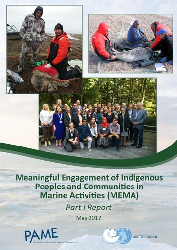 Meaningful Engagement of Indigenous Peoples and Communities in Marine Activities MEMA Part I Report