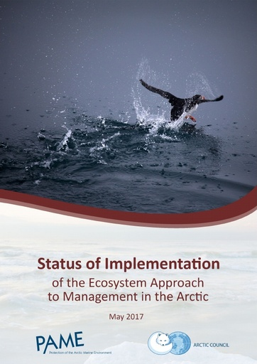 Status of Implementation of the Ecosystem Approach to Management in the Arctic (For approval)