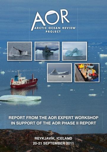 AOR Workshop report (Reykjavik, 2011)