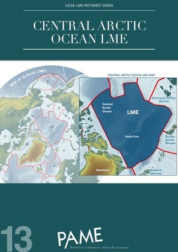 Central Arctic Ocean LME Factsheet Series