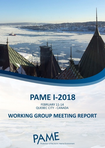 PAME I 2018 Meeting report