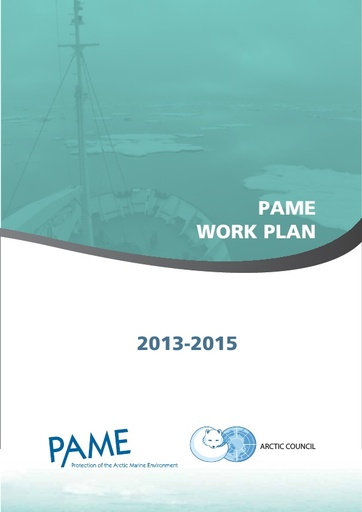 PAME Work Plan 2013-2015