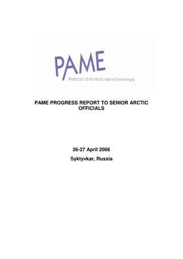 SAO Report 2006