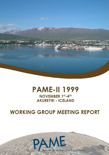 PAME II 1999 Meeting Report