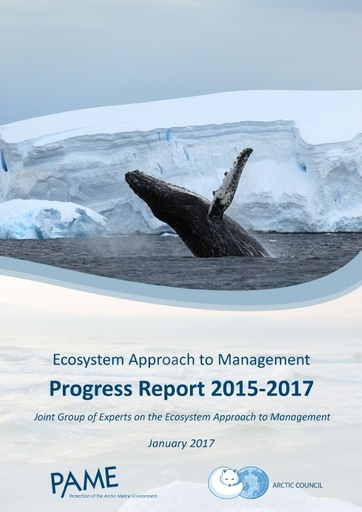 The 2015-2017 Progress Report of the Joint Ecosystem Approach Expert Group EA-EG (For information)