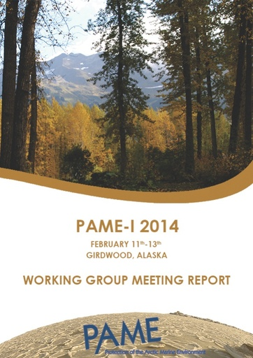 PAME I 2014 Meeting Report