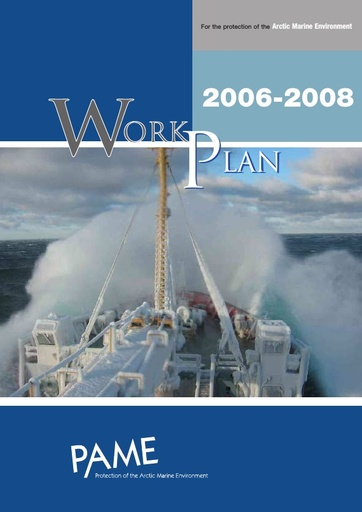 PAME Work Plan 2006-2008