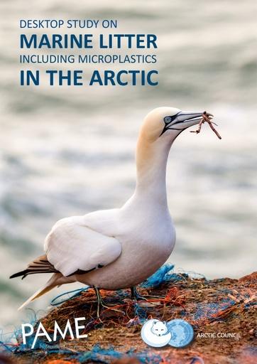 Desktop study on Marine Litter, including microplastics, in the Arctic